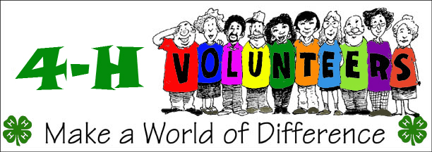 4-H Volunteers Make a World of Difference