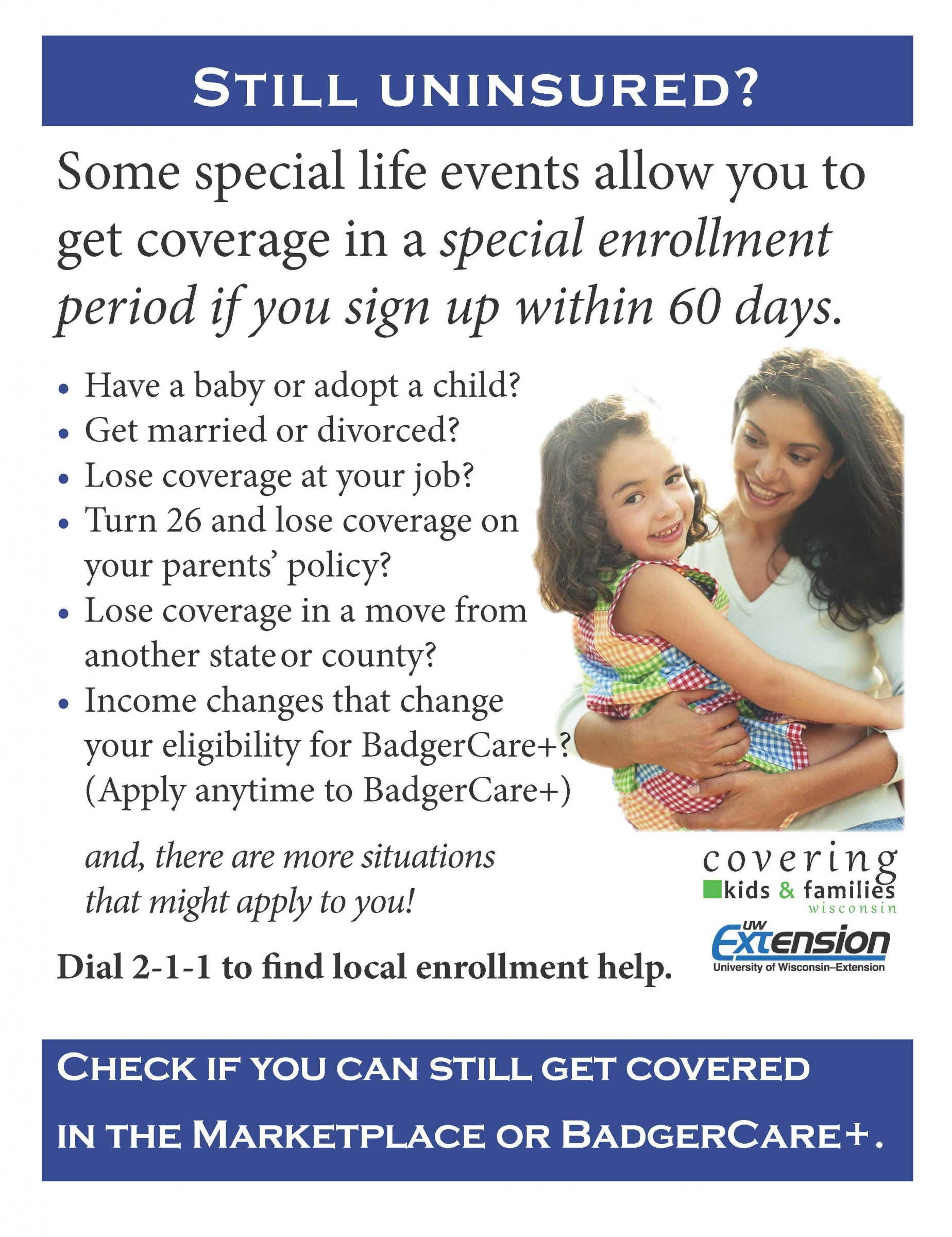 Affordable Care Act for Wisconsin Residents - Ashland County